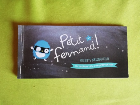 Libricino Etichette Petit Fernand