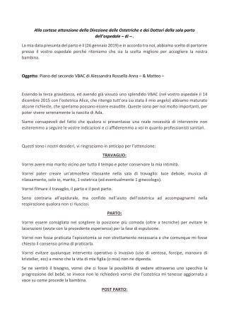 Piano del Parto di Alessandra_01